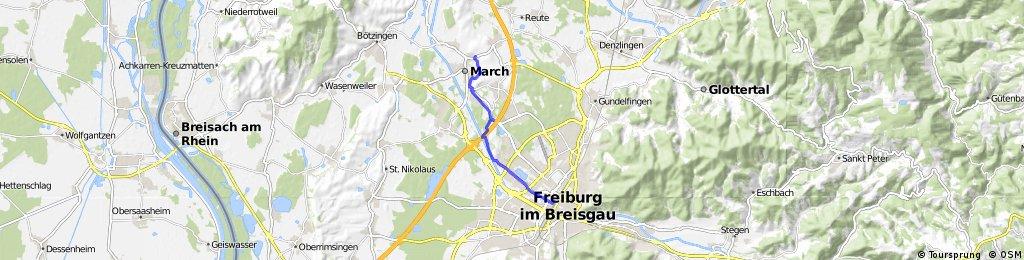 211 Ergänzung zu Tour 210 :Von Schill-Strauße nach FR Hbf