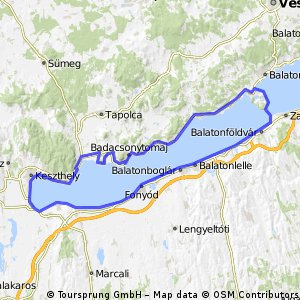 Balatonboglar > Badacsony > Tihany > Balatonboglar