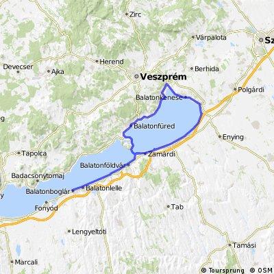 Balatonboglar > Siofok > Balatonfoldvar > Balatonboglar