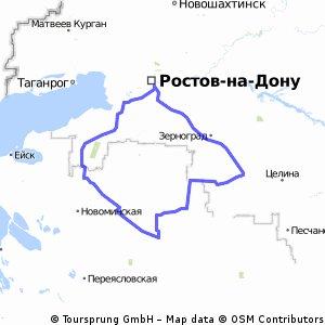 Павловская=400км