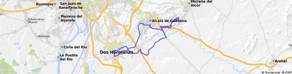 Dos Hermanas-Alcalá-El Gandul