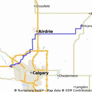 Irricana - Calgary