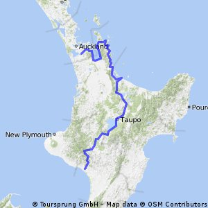 Cycling North New Zealand