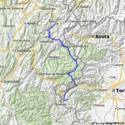 25 - 19 - Saint-Gervais-Les-Bains - Sestriere