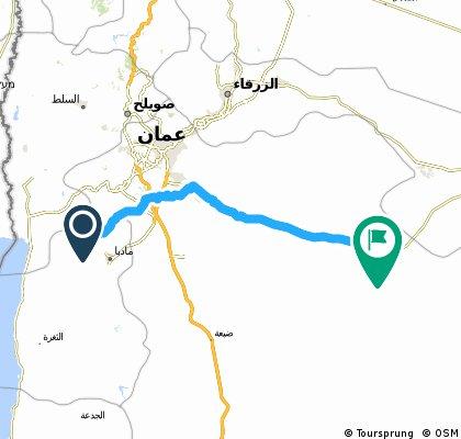 Jordania - Góra Nabo - Qasr Kharana Day 8B