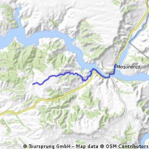 Vall de Freixes a Mequinenza (desde Km. 8 al 23)