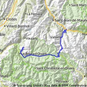 Saint-Michel de Maurienne - Alpe d'Huez