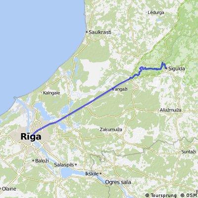 Rīga - Sigūlda