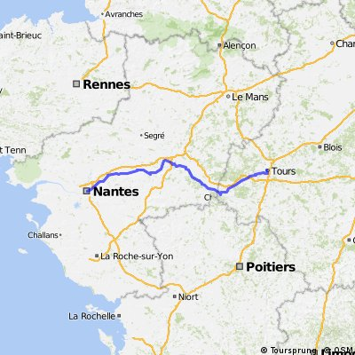 Tours nach Nantes
