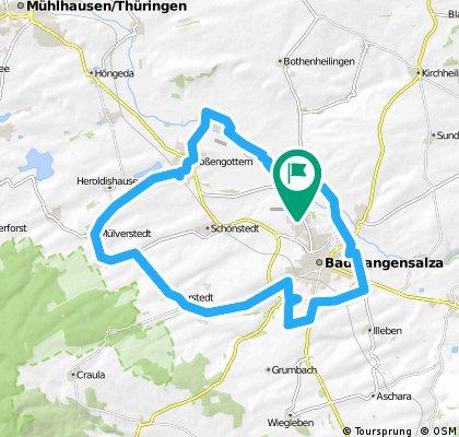Thamsbrück - Weberstedt - Thamsbrück 40