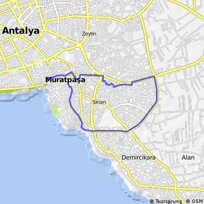 ATB.Antalya Turkuaz Bisiklet Grubu Şehir Turu 38 Etkinlik