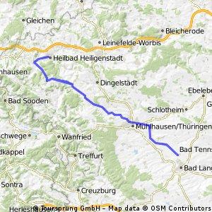 Thamsbrück - Heiligenstadt - Thamsbrück