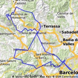 Barcelona Tages Tour 2016 (2. Alternative)