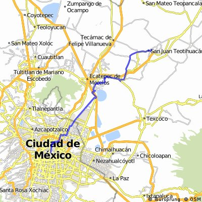 J04 - Jeudi 14 janvier 2016 - Mexico - Téotihuacan