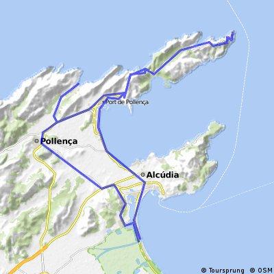 Play de Muro - Cap Formentor - Sant Vicenc - Playa de Muro