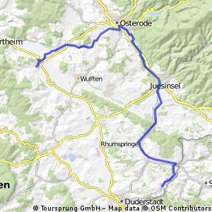 Tag 8 Katlenburg - Fuhrbach