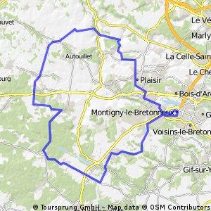 VCMB : Parcours 18/10/2009
