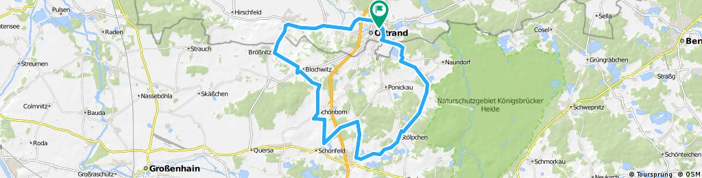 40 km Schneeglöckchen-Radeln