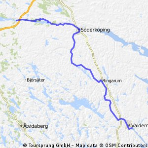 SW16 Valdemarsvik - Norsholm