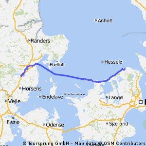 SW25 Græsted - Skanderborg