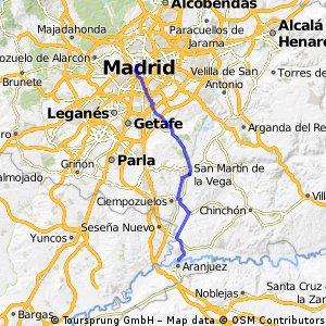 Etapa 6 (Camping Internacional Aranjuez - Madrid)