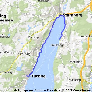 Starnberger See - Tutzing - Berg