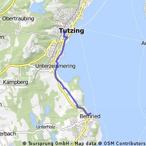 Von Tutzing nach Bernried