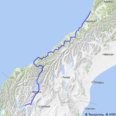 Cycle NZ South Island Track 02