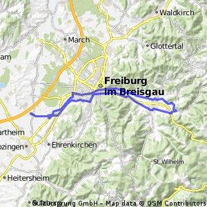134  Dreisamtal-Runde: fast schon Schwarzwald