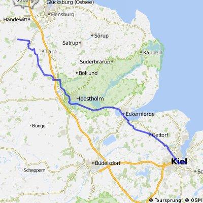 DT36 Kiel - Gettorf - Eckernförde - Schleswig - Großenwiehe