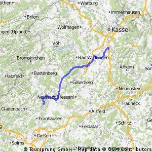 DT8 Büchenwerra - Marburg