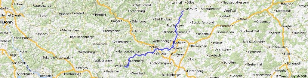 DT9 Marburg - Odersbach