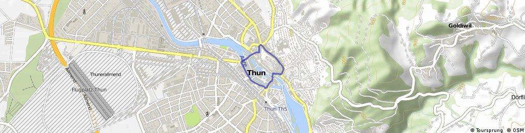 Alpine Tour: Thun (day off)