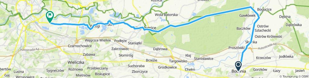 R13b Bochnia - Kraków-Mały Płaszów