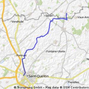 Saint Quentin Busigny dag 2