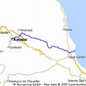 J10 – Mercredi 20 janvier 2016 – Xalapa Enriquez – Playa Chachalacas