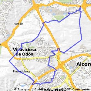 Mostoles - Ventorro Del Cano - Villaviciosa - Mostoles