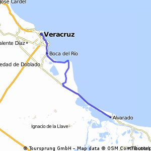 J13 – Samedi 23 janvier 2016 – Veracruz – Alvarado