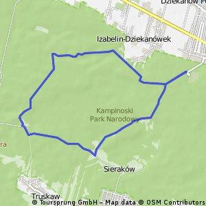 [run] 16 km Spod szpitala w Dziekanowie