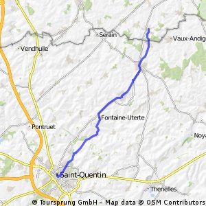 Saint Quentin-Busigny dag 2