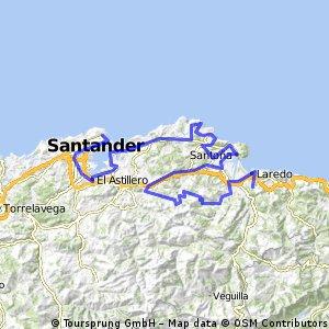 Circuito Montañés cicloturista. Etapa 1/7