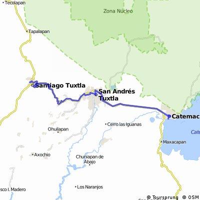 J15 – Lundi 25 janvier 2016 – Santiago Tuxtla – Catemaco