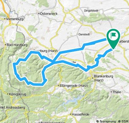 Halberstadt - Brocken Rundkurs