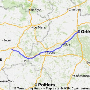 Angers - Orleans fasttrack