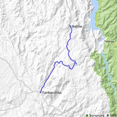 batlow- tumba via buddong falls