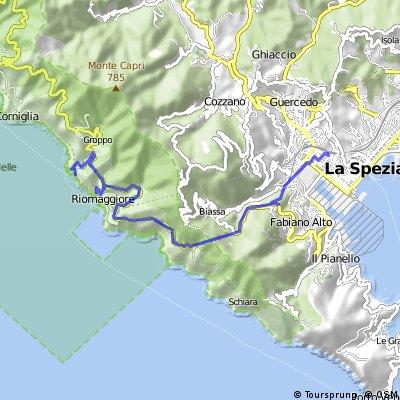 Manarola - Riomaggiore - La Spezia