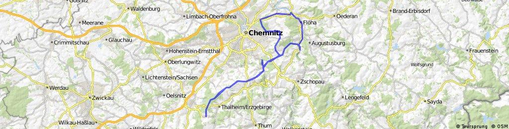 Eisenweg - Brünlos-Chemnitz