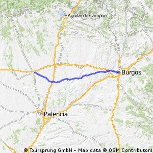 6.etapa Burgos - Frómista - Carrión de los Condes