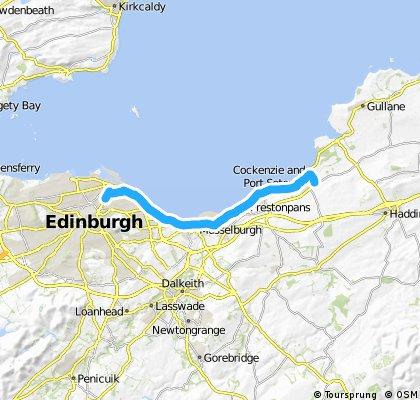 LCC to Longniddry bents