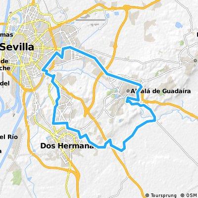 Sevilla-Alcalá-Dos Hermanas Sevilla